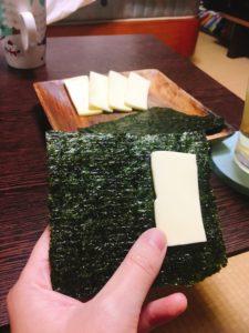 海苔 チーズ おがさわらあい